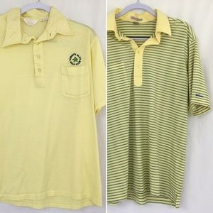 Lot Of 2 Vintage Golf Shirts Mens XL